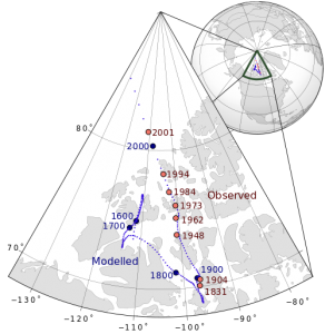http://en.wikipedia.org/wiki/File:Magnetic_North_Pole_Positions.svg
